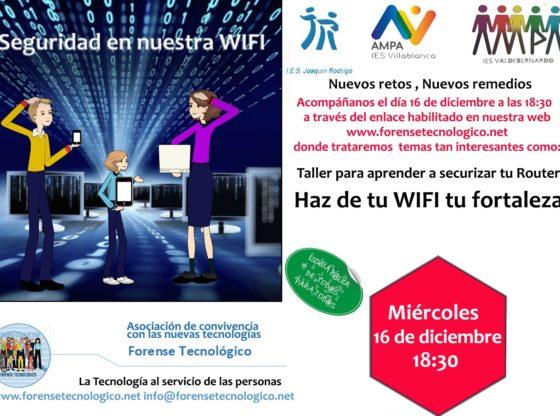 Formacion Wifi Familias Forense tecnologico
